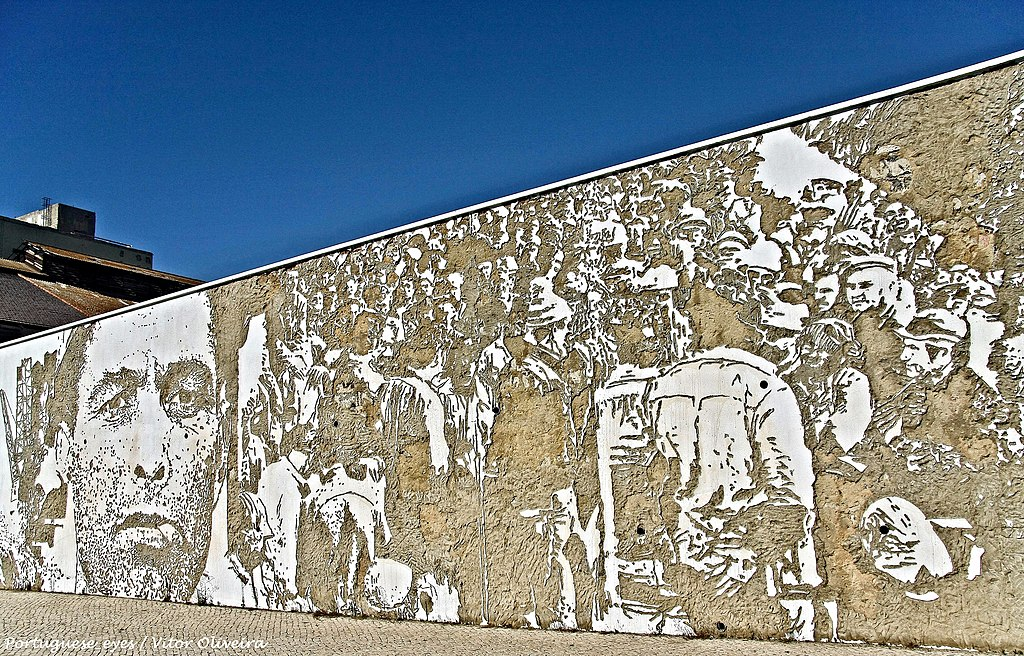 Vhils murales